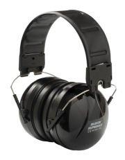 Kapselgehörschutz - Silenta SuperMAX schwarz 36dB Dämmwert für hohe Lärmbelastung