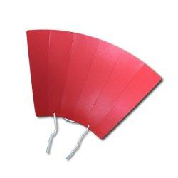 [プロモ] 丸めてメガホン (赤色) [野球 サッカー スポーツ 応援 グッズ] 体育祭 イベント