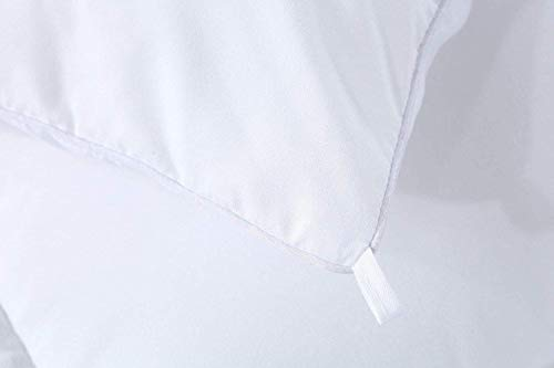 Utopia Bedding Légère Couette - Couette en Microfibre - (Blanc 220 x 240 cm)