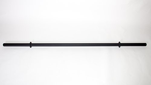 Force Habit Axle Bar 7 ft. in Length 24 lbs 1.9' Grip Diameter, Rated at 650 lbs. Black