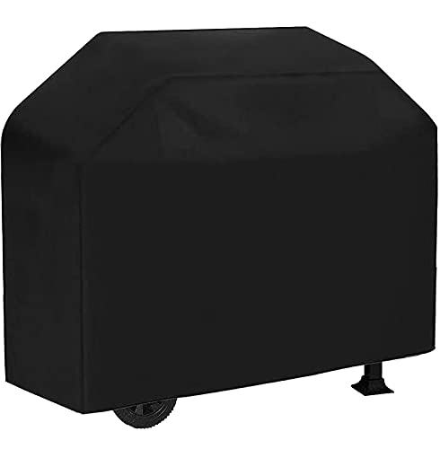 VIBOOS Grill Cover, 58in BBQ Gas Grill Cover, Waterproof, Weather Resistant, Sun Protection, Fade...