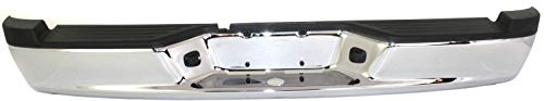 Step Bumper Assembly Compatible with 2005-2010 Dodge Dakota Chrome Steel All Cab Types