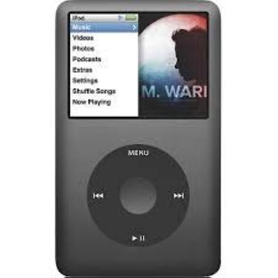 出費ハック壊れたIplayer Apple iPod Classic 第7世代 160gb ブラック ジェネリックアクセサリー付き 非小売パッケージ