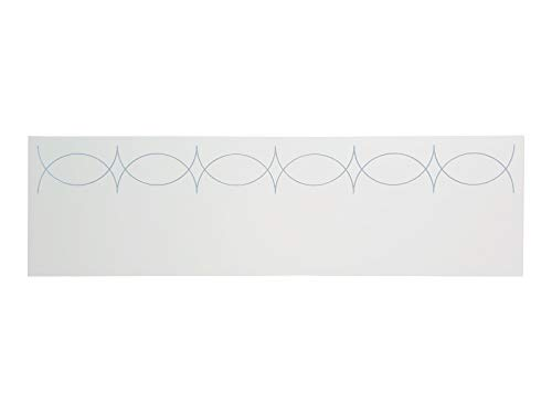 Muebles PEJECAR Cabecero MDF Modelo VERSALLES, Color Blanco, para Pared. Cabecero para Camas de 90 | Cabeceros Madera MDF | Dormitorio Matrimonio | Cabezal Cama (Blanco, para Camas de 90 (100 x 45))
