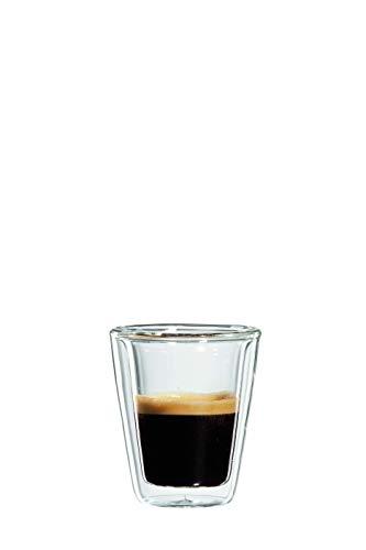 bloomix Milano Espresso 80ml, doppelwandige Thermo-Kaffeegläser im 2er-Set