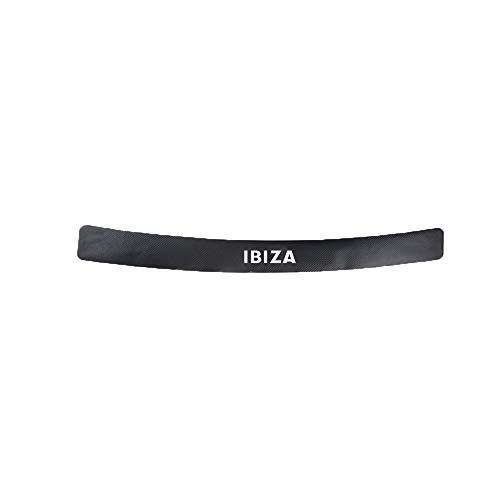 MAZE MA Protectores De Parachoques Traseros para Autos Protector De Tiras De Parachoques De Goma Antirreparones para Ibiza