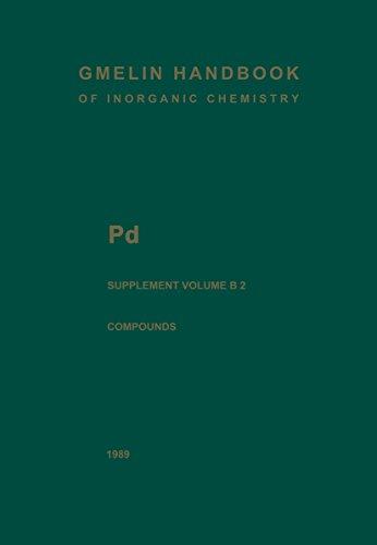Pd Palladium: Palladium Compounds (Gmelin Handbook of Inorganic and Organometallic Chemistry - 8th edition) (English Edition)