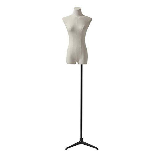 LJFYMX Maniquíes de Costura Modelo de la costurera, Regulable en Altura, Metales básicos, repisa Ropa de la Boda maniquies Mujer