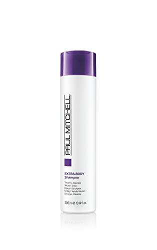 Paul Mitchell Extra-Body Shampoo - Volumen-Shampoo für normales bis feines Haar, stärkende Hair-Care mit Panthenol für Geschmeidigkeit, 300 ml