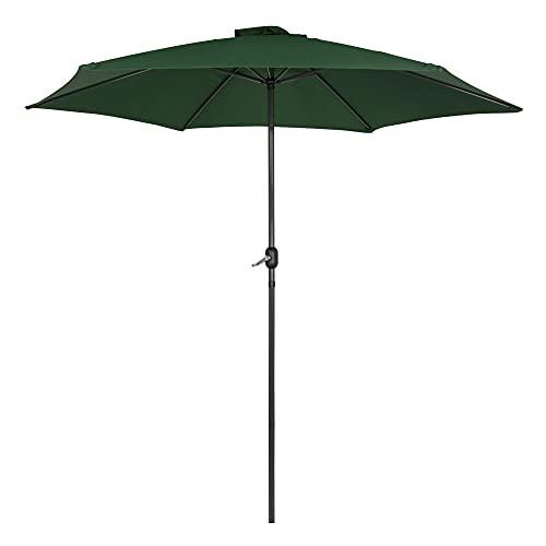 AKTIVE Garden 53990 Parasol Hexagonal, diámetro 300 cm, Verde