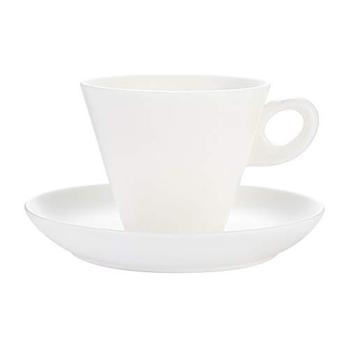 Taza de café Taza de café espresso de jade de jade de jade blanco con platillos taza de café de porcelana elegante tazas de té de cerámica de encanto europeo para café, té Taza de té ( Size : 6.8oz )