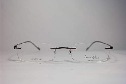 Laura Johns LJ 3013 51[]17 140 brons C 11 randloos brilmontuur bril NIEUW
