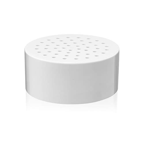 Brondell VivaSpring Compact Shower Filter Replacement – 100% High-Purity KDF Filtration, Good for 6 Months of Filtration, Filtered Shower Water for Healthier Skin & Hair - For Use with CSF Models Only