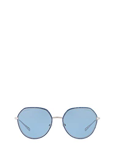 CHANEL Luxury Fashion Damen CH4251JC12472 Blau Metall Sonnenbrille | Jahreszeit Permanent