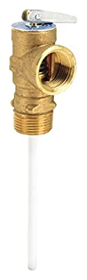 """Watts 100XL-4 Temperature and Pressure Relief Valve, 3/4"""" Size from Watts Regulator Company"""