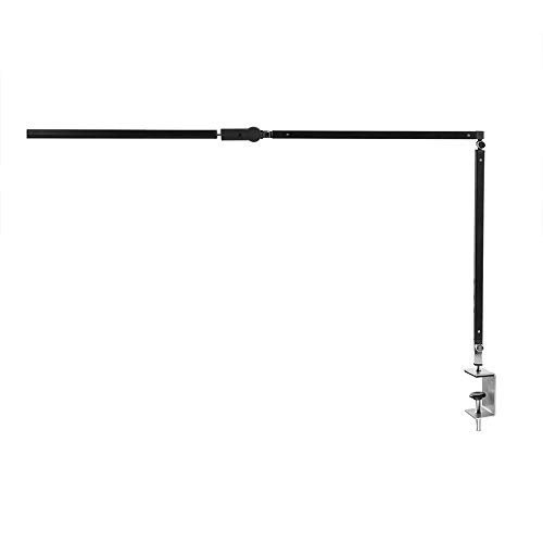 Estink Lámpara LED de escritorio de metal, 8 W, brazo giratorio, lámpara...
