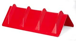 DC Cargo Mall Red Vee Board Trailer Cargo Load Corner Edge Protector and Truck Tie-Down Strap Guard Bumper Cushion, 8
