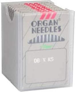 100 Organ Titanium DBXK5 Commercial Embroidery Machine Needles Tajima Barudan (Size 90 /14)