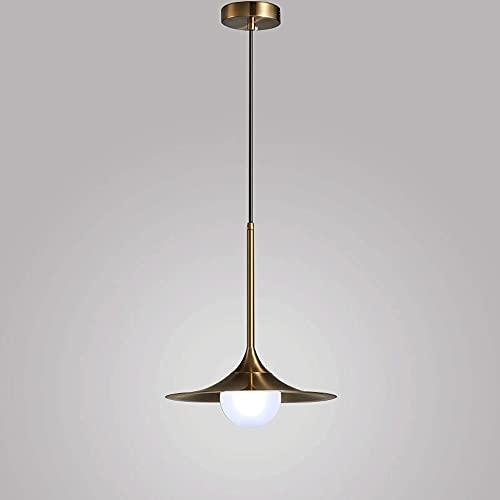 Wmdtr Lámpara Colgante de Vidrio posmoderno nórdico Lámpara de iluminación Colgante de Oro G9 Colgante Luz Ligera Luces de Techo de la Cabeza de la Isla de la Cocina Sala de Estar Dormitorio