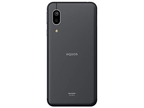 シャープ(SHARP) AQUOS sense3 lite ブラック SH-RM12