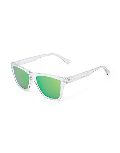 HAWKERS LS Sunglasses, Transparente/Verde, One Size Unisex-Adult