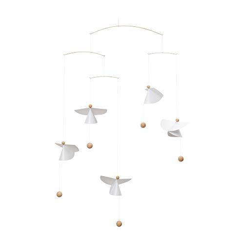 Flensted Mobiles - Mobile - Engel, Schutzengel - Guardian Angels - Siebdruckfolie/Holz - 65 x 45 cm