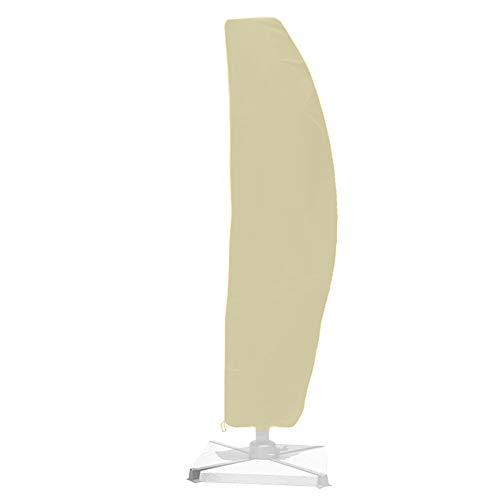BESTINE - Funda para sombrilla con cremallera y cordón, impermeable, resistente al viento y a los rayos UV, tela Oxford para...