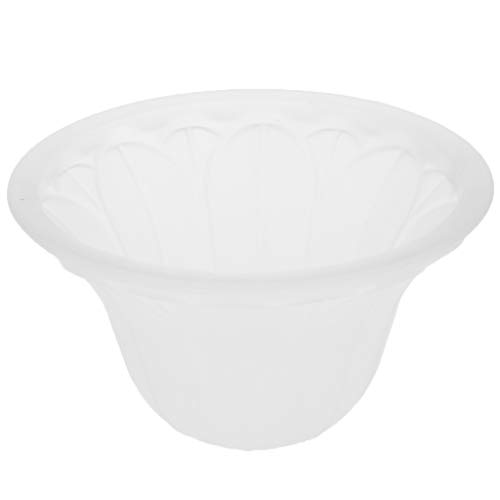 B Blesiya Weiß Lampenschirm Lampenglas Ersatzglas für Deckenlampe Wandlampe - Typ 1