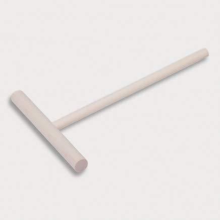 HOFMEISTER® Teig-Verteiler für Crepes, Galettes & Pfannkuchen, 20 cm, verteilt den Teig hauchdünn & gleichmäßig, kein Kratzer oder Plastik auf der Heizplatte, hitzebeständig, Buchen-Holz