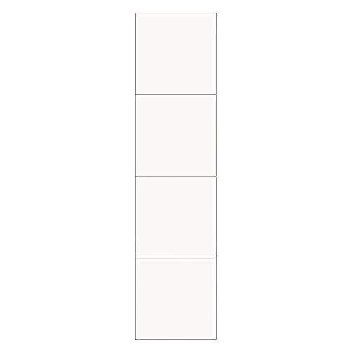 Basage Espejo de Tocador de 4 Piezas 30X30 Pegado en la Pared Empalmado para el Hogar para Dormitorio de Estudiantes, Sala de Estar, Dormitorio, Espejos de Cuerpo Completo