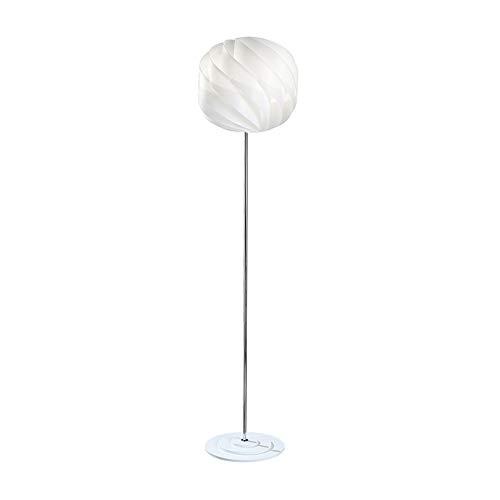 Lámpara de pie de polilux de 40 mm de diámetro, 1 luz blanca