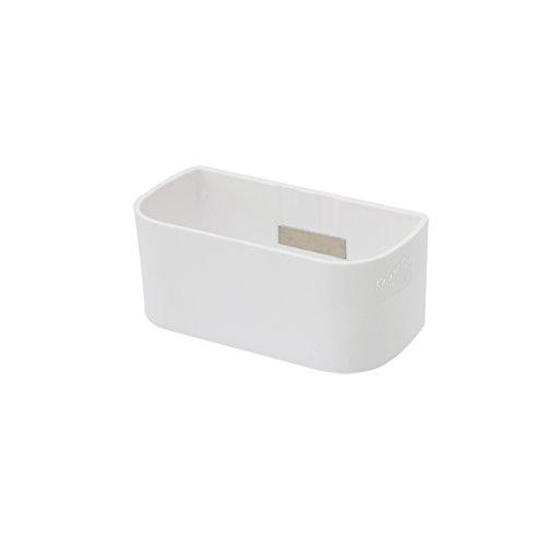 Sgaravatti 64016-900-001 Kalamitica magnetische Pflanzkasten, 12 cm, weiß
