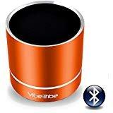 Vibe-Tribe Troll Plus Tango Orange: 12 Watt Bluetooth Vibration Speaker with Hands Free