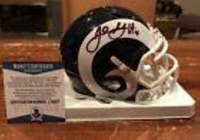 Jared Goff Signed Mini Helmet  Witness Beckett & Fantatics  Beckett Authentication  Autographed NFL Mini Helmets