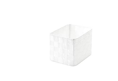 Compactor, Organisateur de tiroir Stan, Blanc, taille XL, Dimensions: 19 X 14,2 X H.12,6 cm. RAN6881