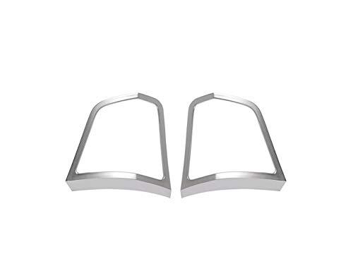 HUAER Accesorio Interior de automóviles ABS Chrome VIETANTES Botones Decorator Frame Cover...