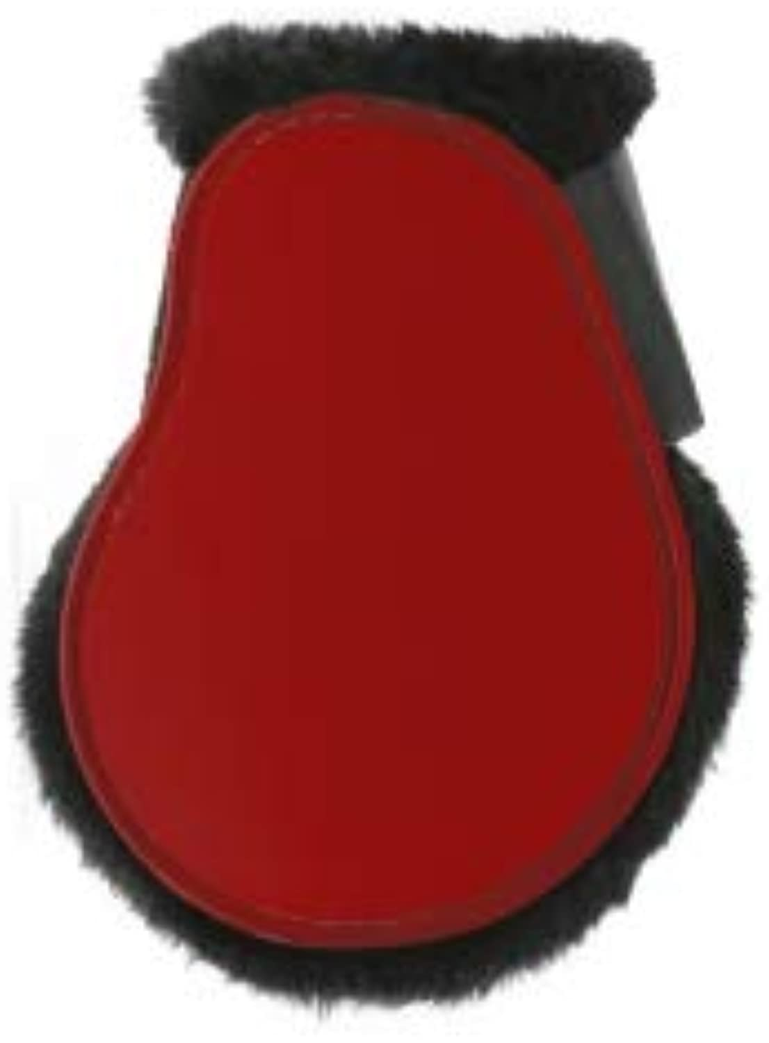 Norton Fleece Fetlock Predectors  Red  Horse Equipment Size  Pony