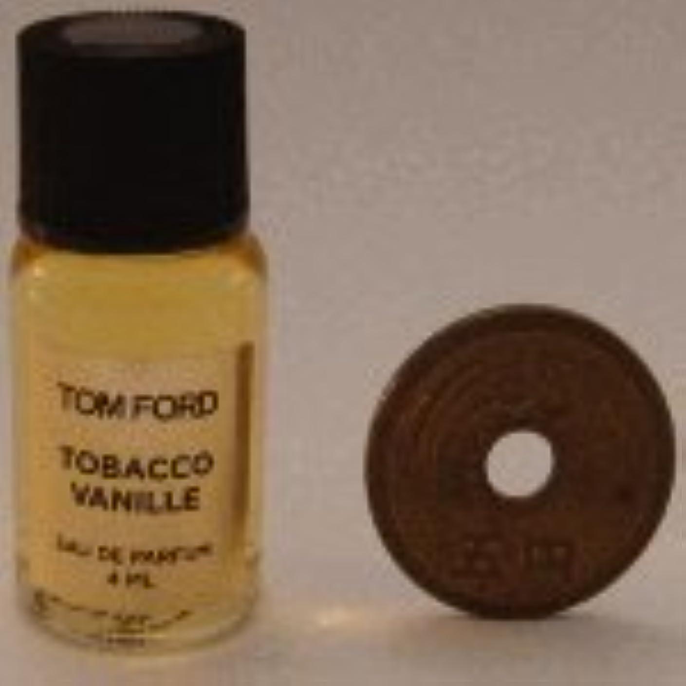 欲求不満言語幾何学Tom Ford Private Blend 'Tobacco Vanille' (トムフォード プライベートブレンド タバコバニラ) 4ml EDP ミニボトル (手詰めサンプル)