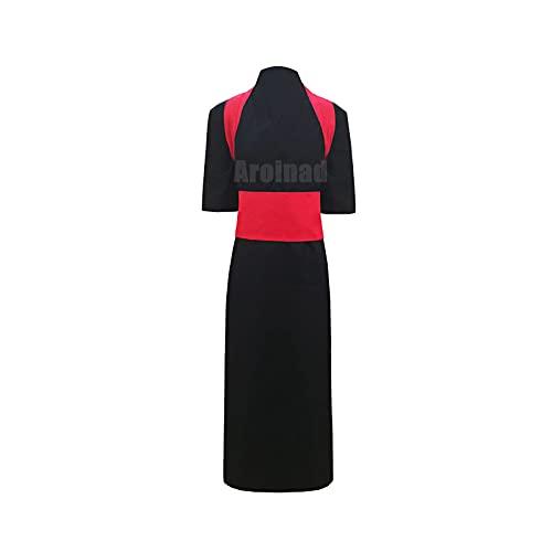 ULLAA Disfraz de Cosplay Temari, ropa tradicional del anime japons NARUTO para exhibicin de anime, fiesta de Halloween