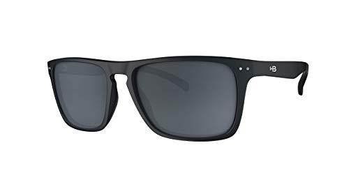 Óculos de sol Cody HB AdultoUnissex Preto Brilhante Único