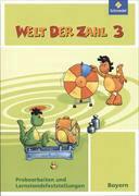 Welt der Zahl - Ausgabe 2014 für Bayern. Kombipaket aus Lehrermaterialien 3, Probearbeiten und Lernstandsfeststellungen 3, Kopiervorlagen 3