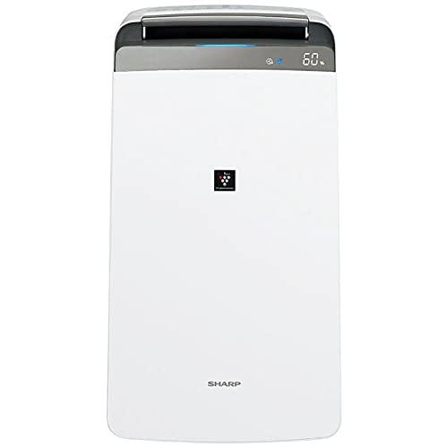 SHARP プラズマクラスター 衣類乾燥 除湿機 コンプレッサー方式 ホワイト系 CV-N180(W)