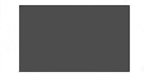 HDDFG Pantallas de proyección de Marco Fijo de Bisel Delgado 16: 9 con Tela Pet + Pantalla ALR para proyector de Alcance ultracorto (Size : 80 Inch)