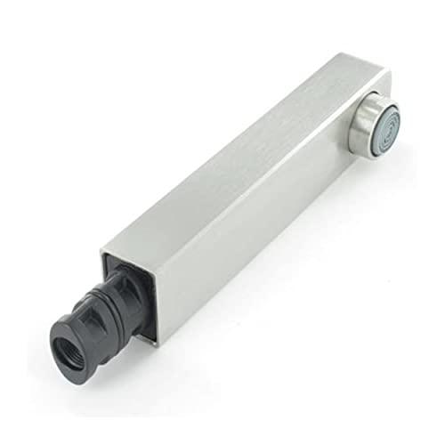 Alcachofa de ducha Levos-S HD, acero inoxidable satinado, 117803 para grifo Blanco de alta presión
