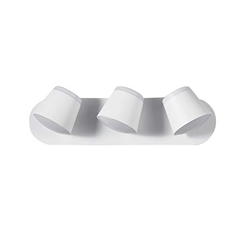 AZYJBF Aplique Pared LED, Apliques de Pared Modernos con 3 Focos Giratorios y Orientables 3 x 5W Blanco Cálido ara Dormitorio,Bar, Dormitorio, Sala de Estar, Restaurante