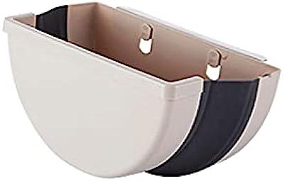 FEIHAIYANYljt ゴミ箱 1キッチンのゴミ箱、キャビネット/バスルーム/ベッドルーム、ブラウンサイズ:5.5 * 27 * 15cm