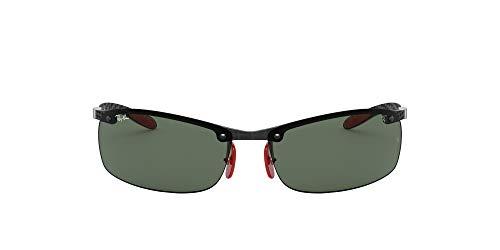 Ray-Ban 0RB8305M Gafas de sol, Dark Carbon, 40 para Hombre