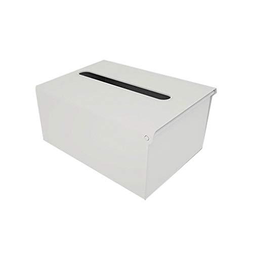 PPuujia Caja de servilletas, soporte de papel de pared, dispensador de pañuelos adhesivos, toallitas, organizador de almacenamiento de servilletas, estante para cocina y baño (color : GY)