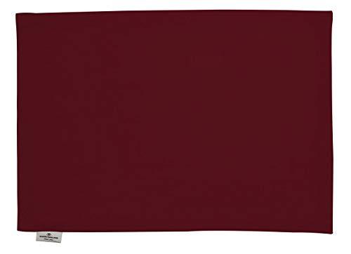 Tom Tailor 580703 T-Dove Lot de 6 Sets de Table Coton Rouge 35 x 50 cm