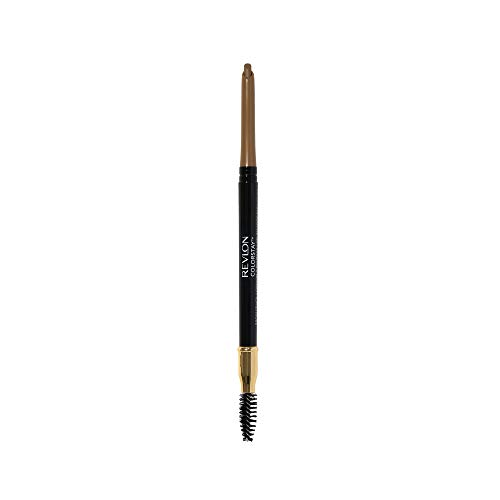 Revlon ColorStay Eyebrow Pencil with Spoolie Brush, Waterproof, Longwearing, Angled Tip Applicator for Perfect Brows, Blonde (205)